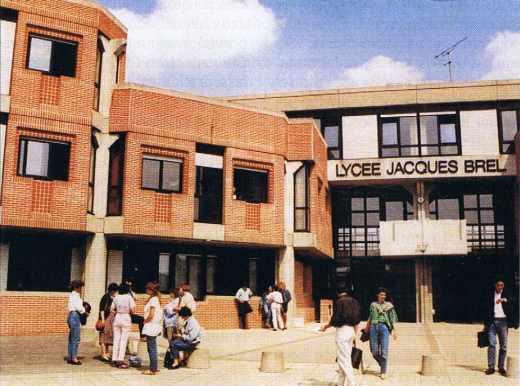 Le lycée Jacques Brel de La Courneuve