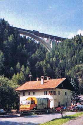 Descente du Brenner côté Autriche