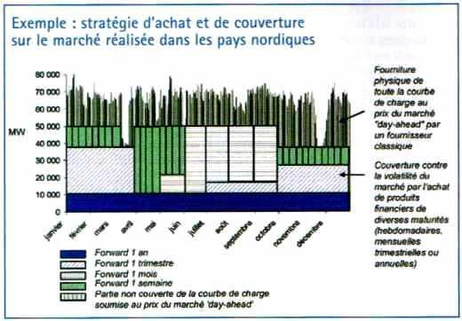 stratégie d'achat et de couverture sur le marché de l'electreicité