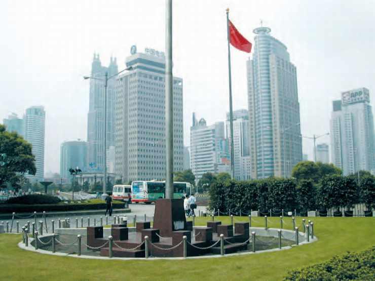 Promenade au centre de Shanghaï.