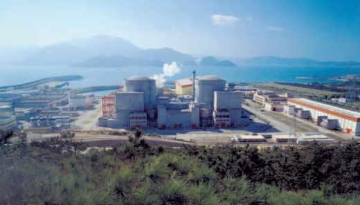 Centrale nucléaire de Daya Bay en Chine