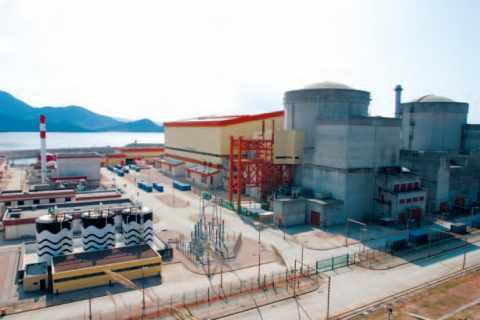 La centrale nucléaire de Daya Bay, de fourniture Framatome et Alstom, en Chine