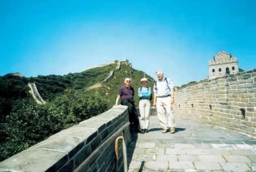 Mission Chine : ParisTech et l'X sur la Muraille de Chine