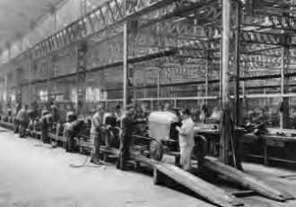 La première chaîne de montage Citroën