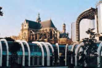 L'église Saint-Eustache, près des Halles