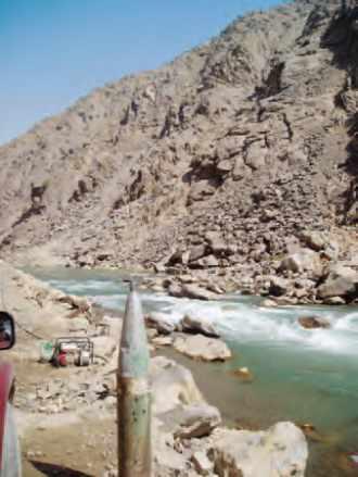 Le verrou d'accès à la vallée du Panjshir