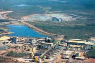 Mine d'uranium.en Australie