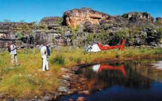 Prospection dans le Nord de l'australie