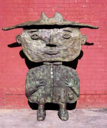 Dean Bowen, The Big Little Man (Bronze, 1999).