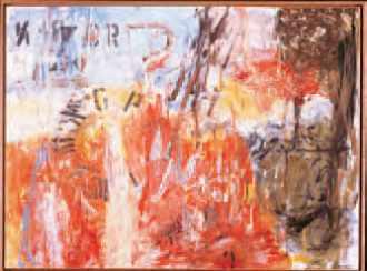 Ann Thomson, CR-7 (huile sur bois, 1994).