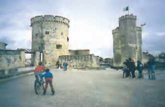 Port de La Rochelle.