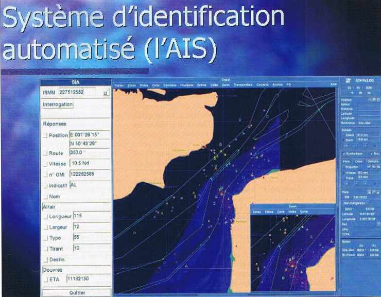 Système d'identification automatisé (l'AIS)