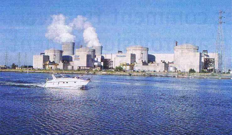 Centrale EDF de Tricastin