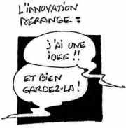 Illustration de François JEGOU : L'innovation dérange