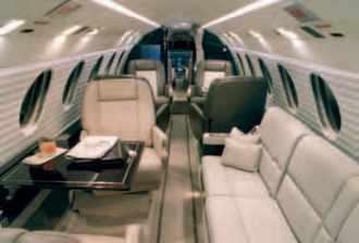 Intérieur du Falcon 50