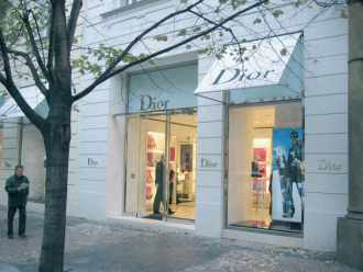 Boutique Dior à Prague