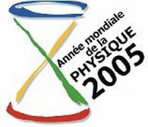 Logo année mondiale de la physique 2005