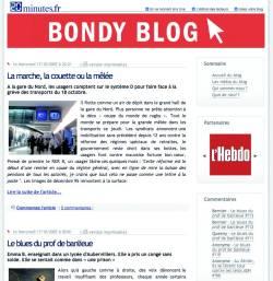 Vue du BONDY Blog