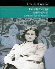 Couverture du livre : EDITH STEIN (1891 - 1942)