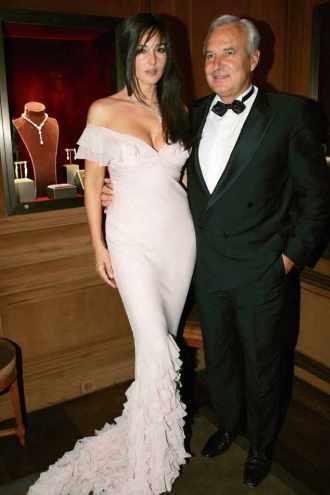 Bernard Fornas et Monica Bellucci