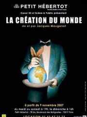 Affiche de La création du monde au théatre Hébertot
