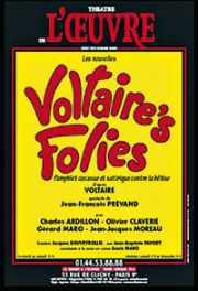 Affiche de theatre : Voltaire's Folies