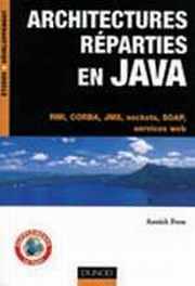 Couverture livre Architectures réparties en JAVA