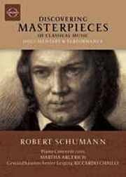 Coffret du DVD Concerto pour piano de Schumann