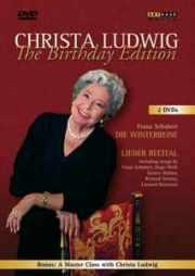 Couverture DVD Récital Christa Ludwig