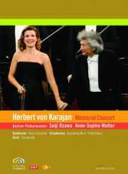 Coffret DVD du concert hommage à H. Von Karajan