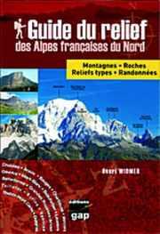 Couverture du Guide du relief des Alpes