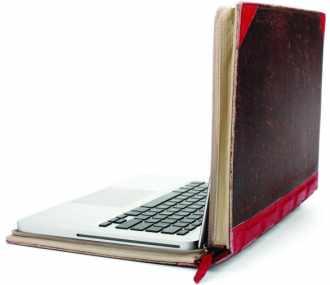 Sacoche d'un ordinateur sous forme de livre