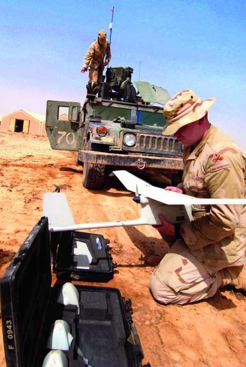 Drone en Irak