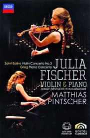 Coffret du DVD de Julia Fischer (violon et panio)