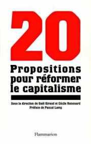 Couverture du livre : 20 propositions pour réformer le capitalisme