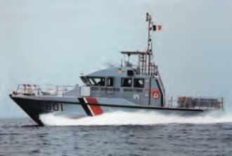 Vedette de la Gendarmerie maritime Elorn.