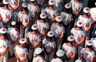 Des marins