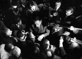 Georges BESSE à Flins en 1985
