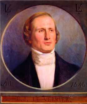 Portrait de Le Verrier par Charles Daverdoing