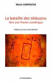 Couverture du livre La bataille des télécoms