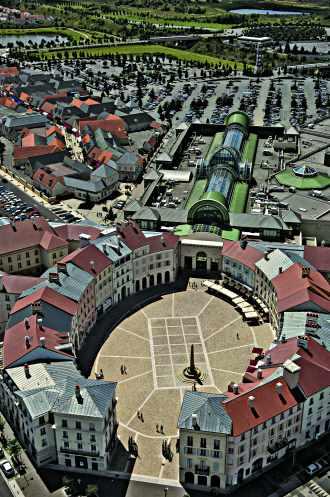 Place Toscane à Serris