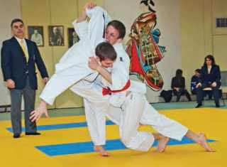 Judo à l'école polytechnique