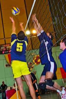 Volley à l'école polytechnique