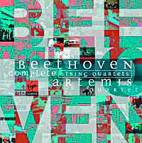 Coffret du CD de Beethoven