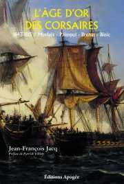 Couverture du livre : L'âge d'or des corsaires