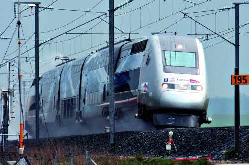Le TGV du record de vitesse