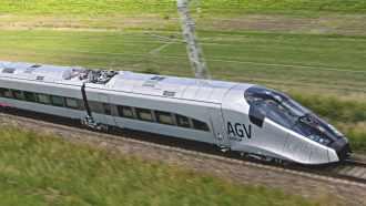 L'AGV d'Alstom