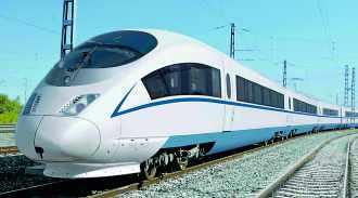 TGV CHR-3 de Siemens (Chine)