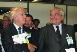Bernard Brunhes aux côtés de Daniel Percheron
