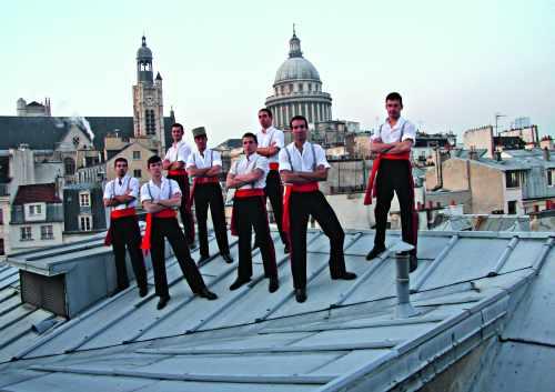 La Khômiss sur les toits de Paris